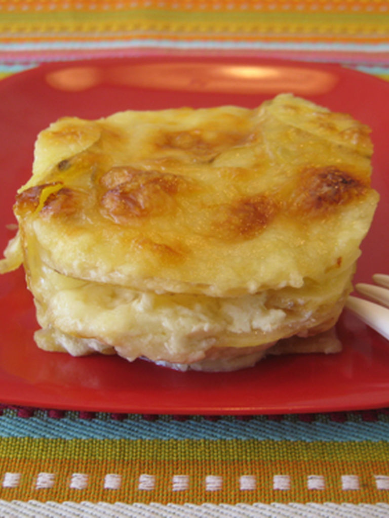 Golden Potato Gratin Recipe — Dishmaps