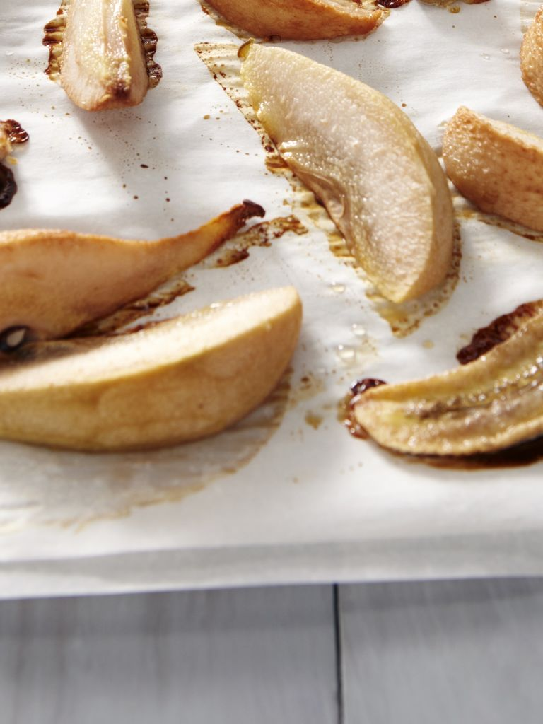 Roast Pear & Banana Puree | Weelicious