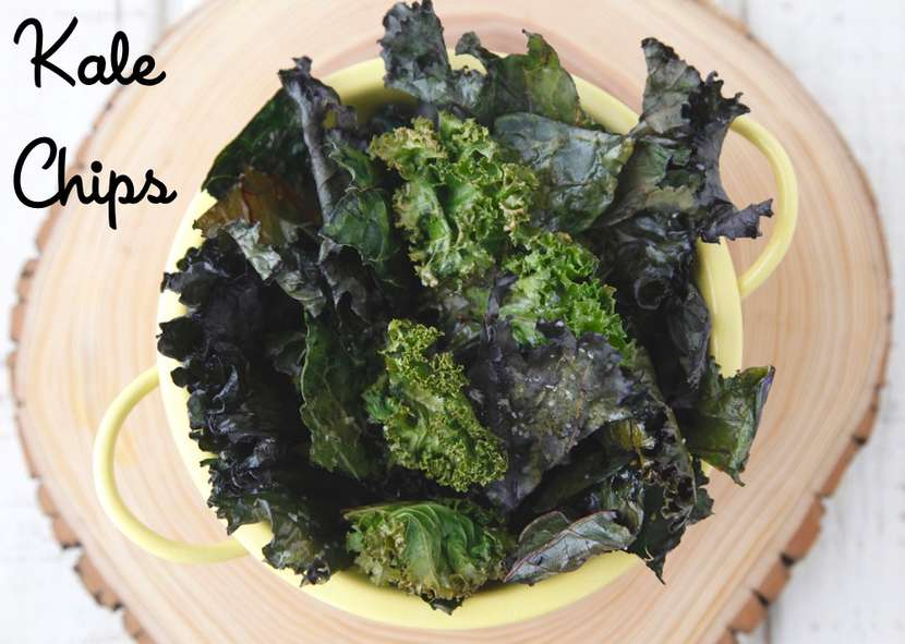 Kale Chips from Weelicious