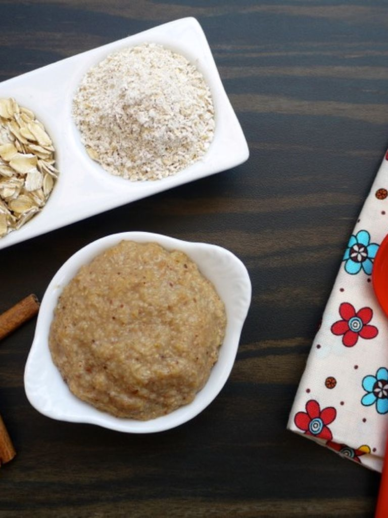 Homemade Oatmeal Cereal For Babies Weelicious