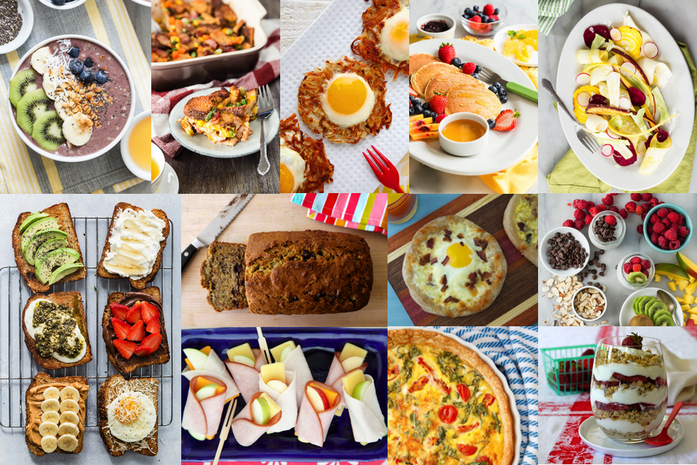 12 Must Have Brunch Recipes from weelicious.com