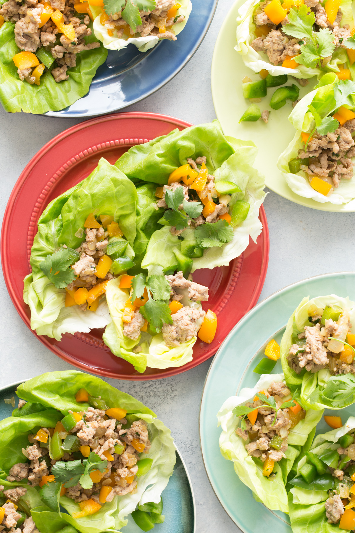 Stir Fried Chicken in Lettuce Cups from weelicious.com