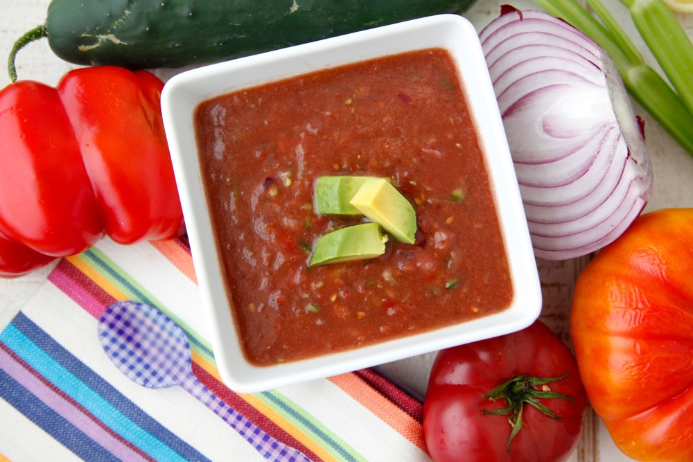 Wee Gazpacho from Weelicious