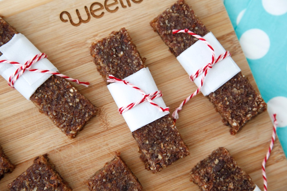 Protein Bars from Weelicious
