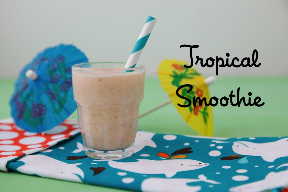 Tropical Smoothie Baby Food