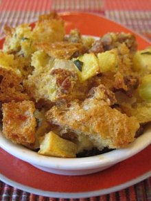 Kids Apple Sausage Stuffing
