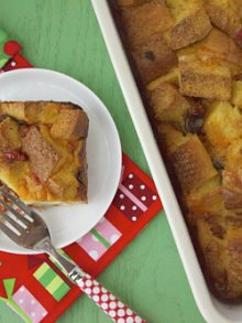 Christmas Morning Breakfast Strata