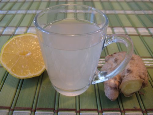 Ginger Lemon Honey Tea | Weelicious