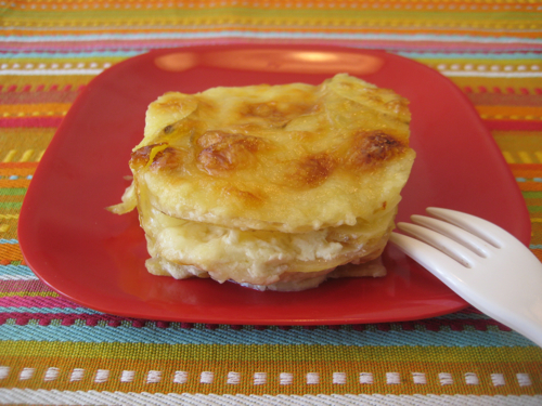 Golden Potato Gratin | Weelicious
