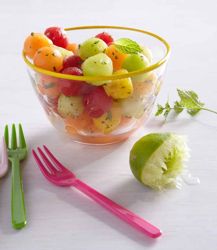 Summer Fruit Salad from weelicious.com