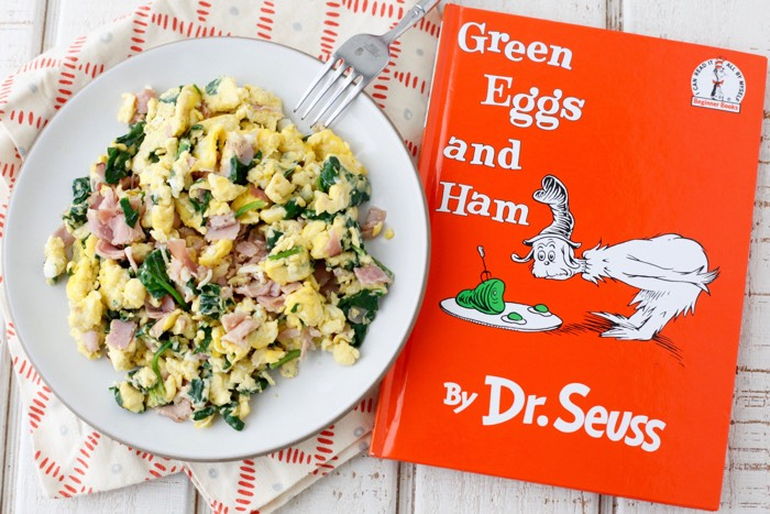 Dr. Seuss Eggs recipe from weelicious.com