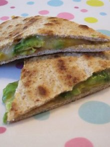 Avocado & Cheese Quesadilla