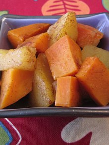 Sweet Potato & Apple Casserole
