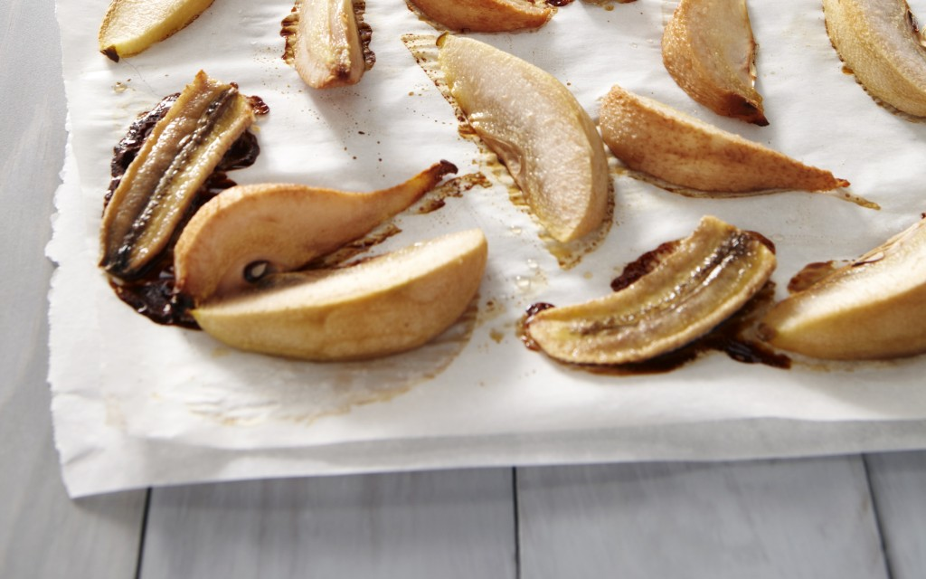 Roast Pear Banana Puree from weelicious.com