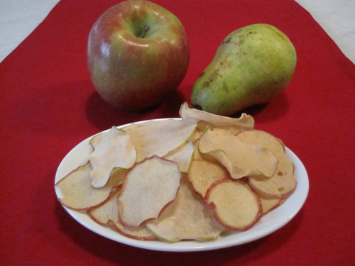 Pear and Apple Chips | Weelicious