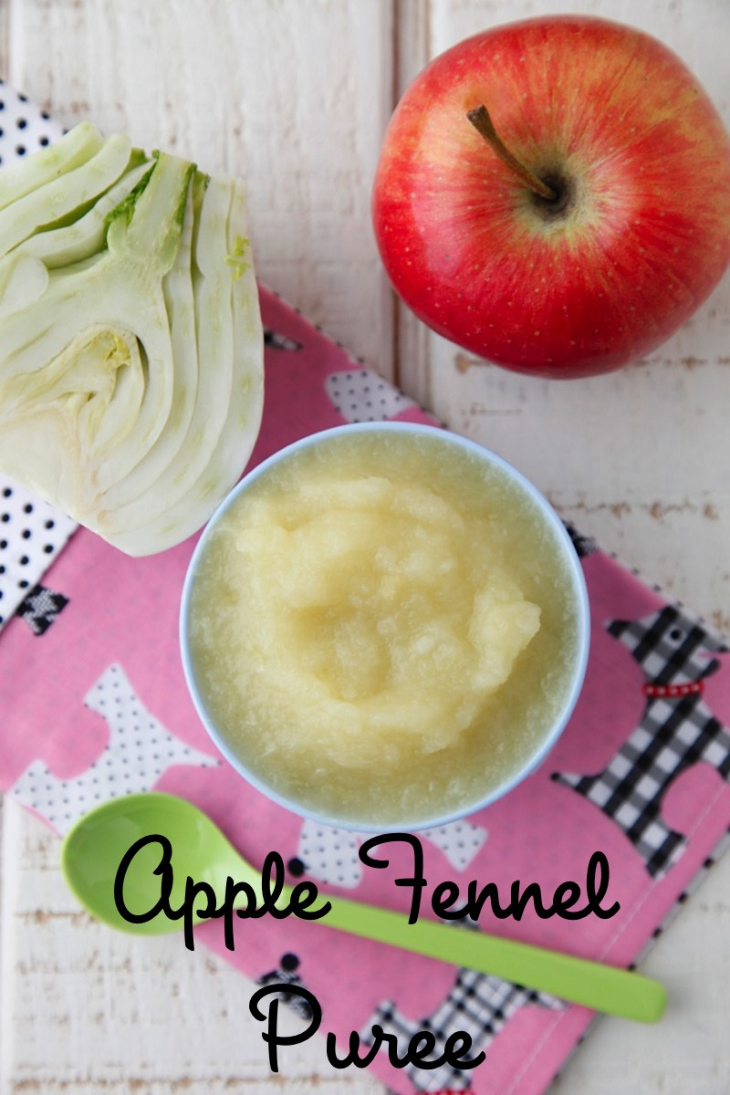 Apple Fennel Puree from Weelicious