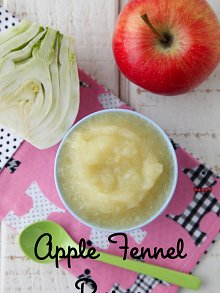 Apple Fennel Puree