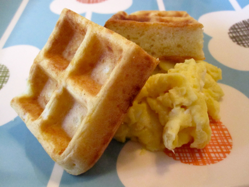 isowufcag: cheese waffle snack recipes