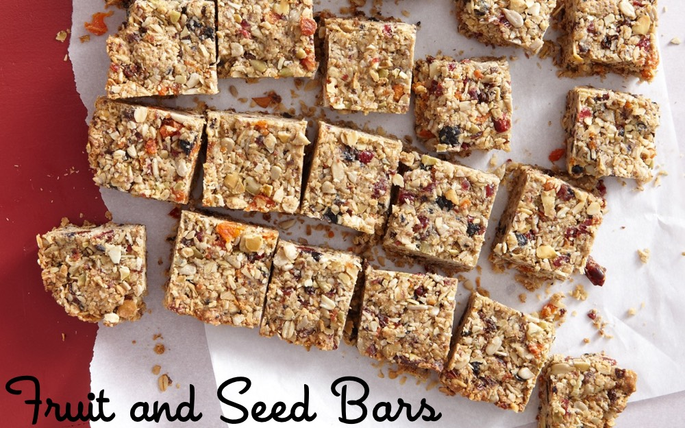 Fruit and Seed Bars | Weelicious