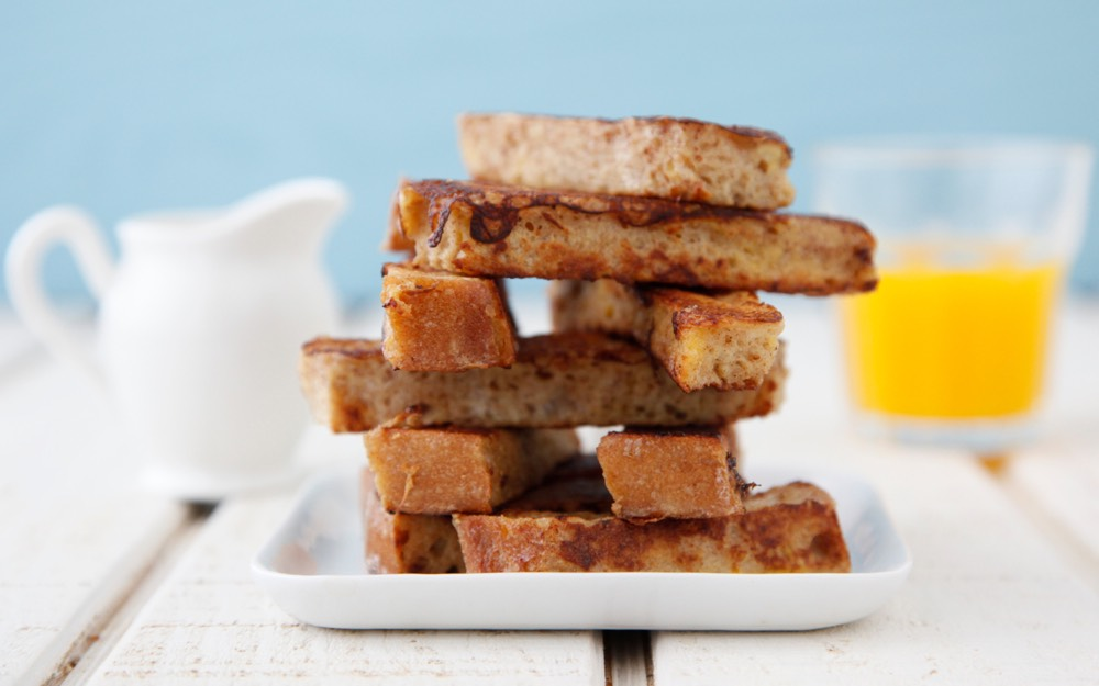 French Toast Sticks from Weelicious