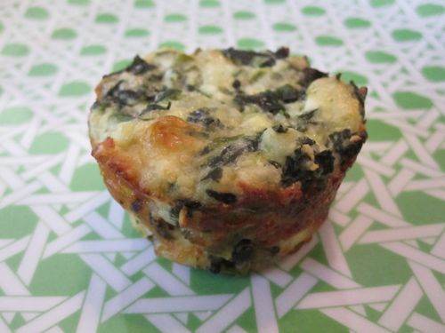 Spinach Ricotta Bites Recipe — Dishmaps