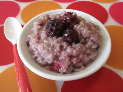 Berry Delicious Oatmeal
