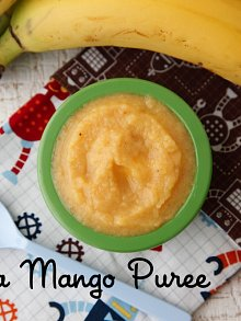 Mango Banana Puree