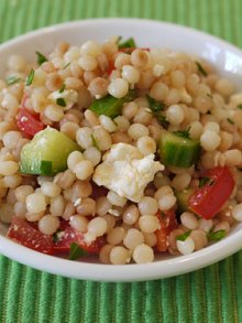 Greek Israeli Coucous Salad