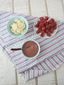 Raspberry Banana Puree