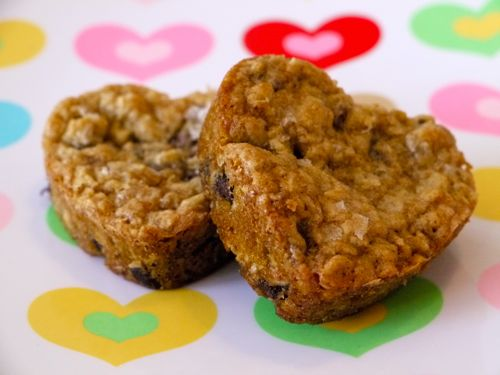 Oatmeal Chocolate Chip Sea Salt Cookies | Weelicious