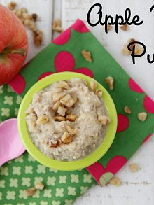 Apple Walnut Puree
