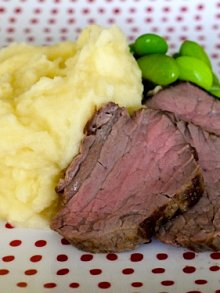 Pan Seared Beef Tenderloin