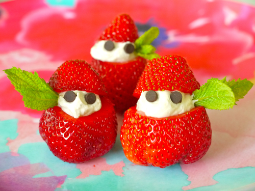 "Strawberries and Cream ""Elves"""