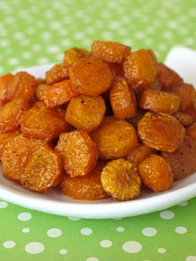 Roast Carrot Coins
