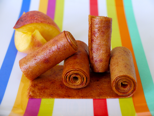Peach Fruit Leather | Weelicious