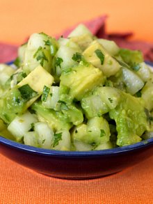 Cucumber Avocado Salsa