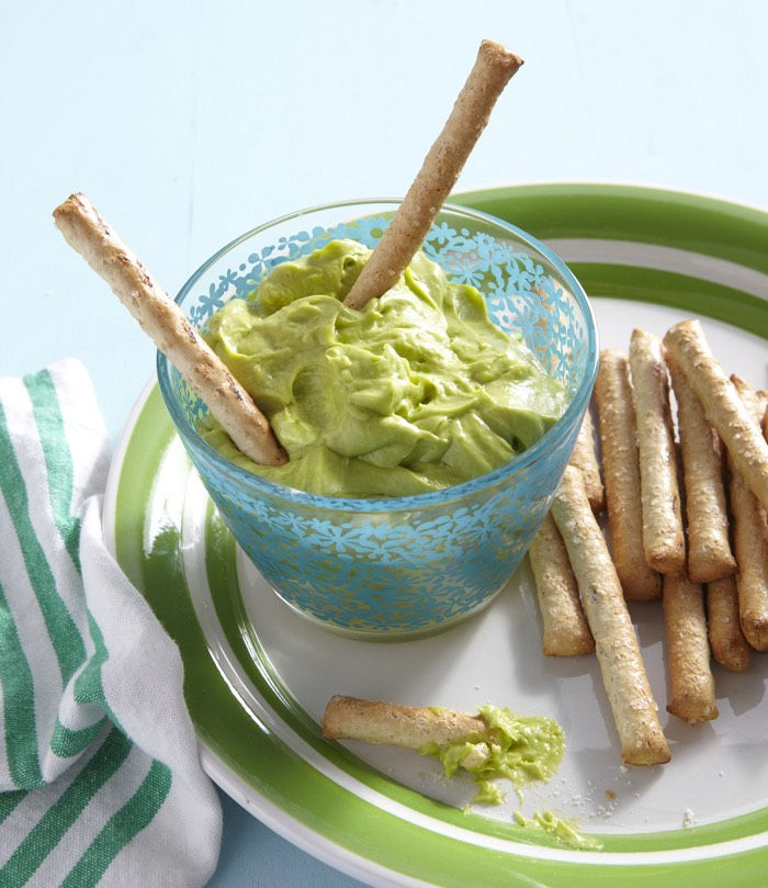 Avocado Honey Dip from weelicious.com