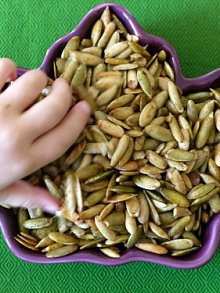 Maple Roast Pumpkin Seeds