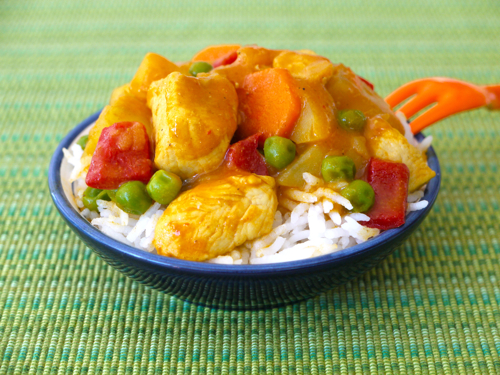 By Hand By Ruth Easy Chicken Curry Weelicious Fast Easy