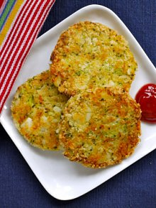 Broccoli & Cheese Patties