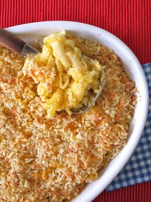Classic Macaroni and Cheese- Perfect for Super Bowl Sunday!