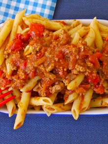 Crock Pot Meaty Pasta Sauce
