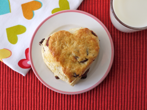 Dried Cherry Scones- Valentine's Breakfast