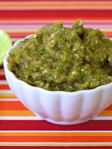 Italian Green Vegetable Puree