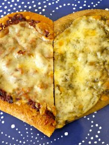 Two Cheese Pesto Pizza
