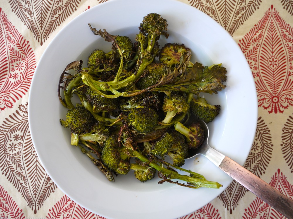 Crispy Broccoli from Weelicious