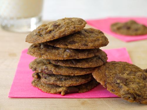 Out of This World Vegan Chocolate Chip Cookies | Weelicious