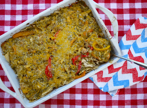 Potluck Chicken Fajita Casserole | Side Dish Recipes