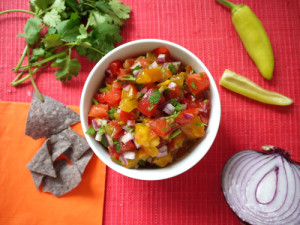 Heirloom Pico de Gallo