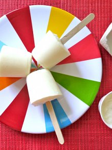 Frozen Yogurt Ice Pops